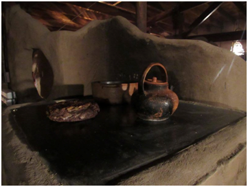 Placa metálica para calentar alimentos